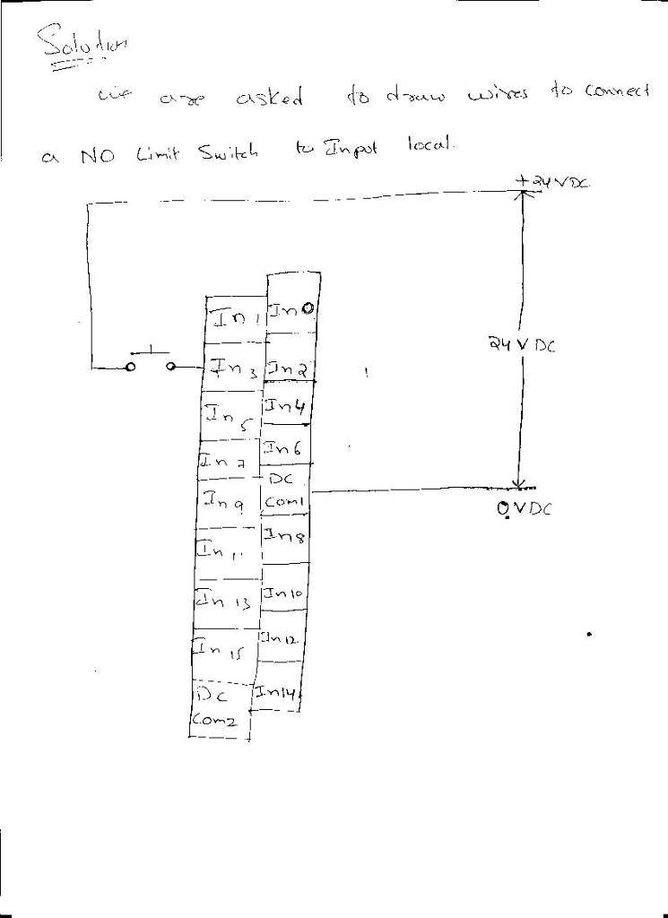 900y73 Signal Switch Wire Diagram