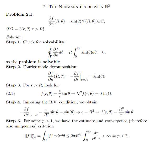 Solved: Partial Differential Equation  My Professor Only G
