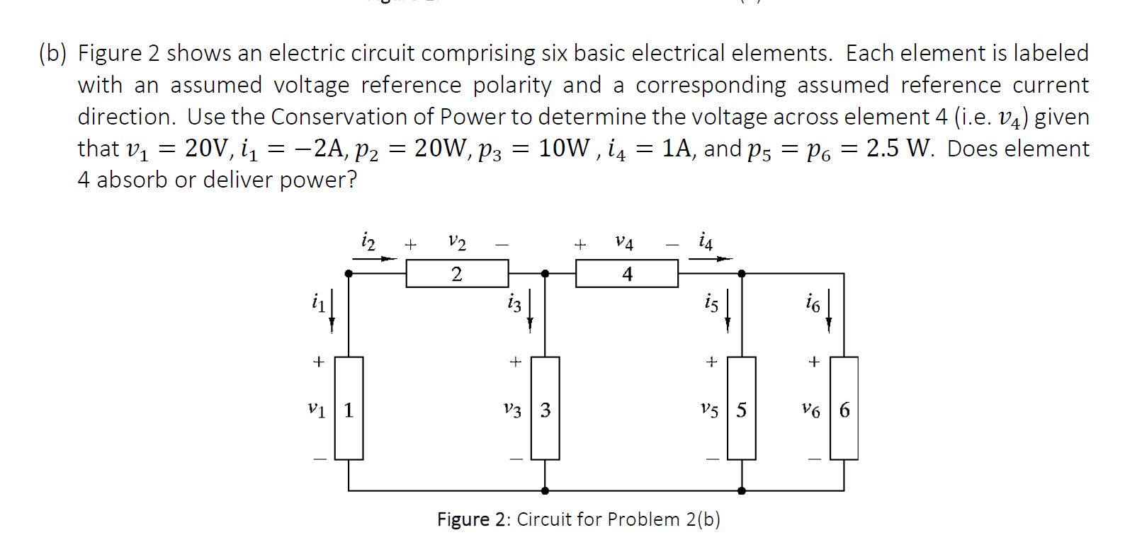 Solved: (b) Figure 2 Shows An Electric Circuit Comprising ...