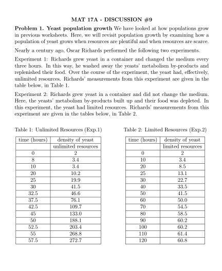 Population Growth Worksheet Answers - Escolagersonalvesgui