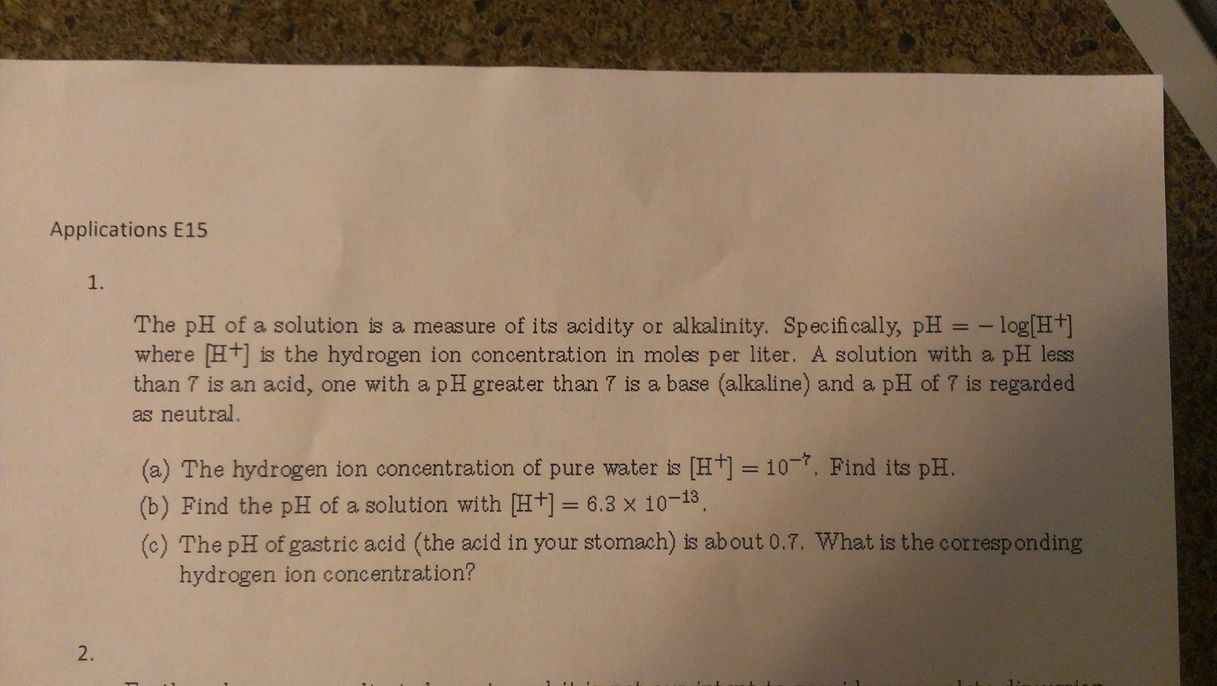 an introduction to the study of ph the measure of h a proton a concentration of a solution How do you calculate proton concentration [h+] follow 2 answers 2 is from the ph of a solution if you measure the ph of a given solution.
