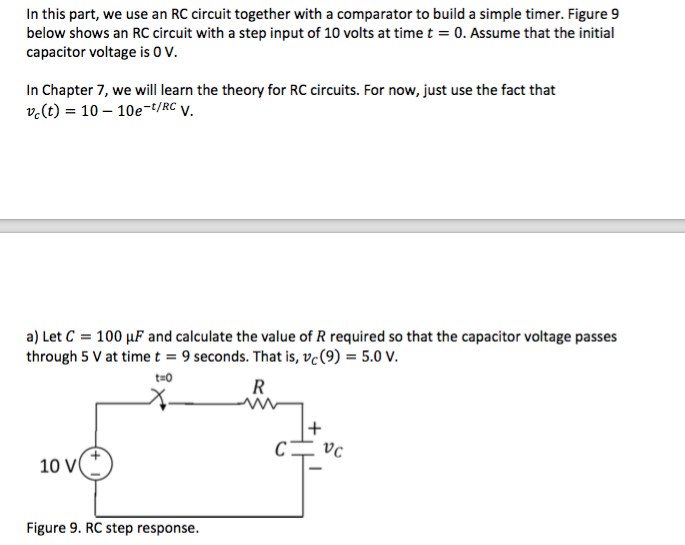 solved in this part, we use an rc circuit together with ain this part, we use an rc circuit together with a
