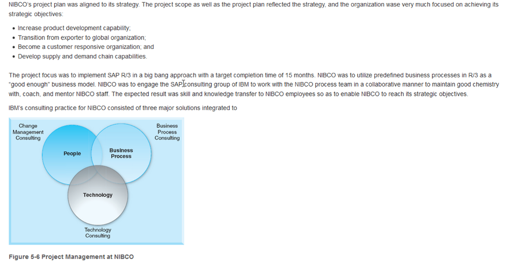 Case study information systems sap project at nib chegg sap infrastructure 177 400000 sap implementation 3000 5000000 phase 2 total 177 400000 3200 9300000 total phase 1 and phase 2 277 5650000 malvernweather Choice Image