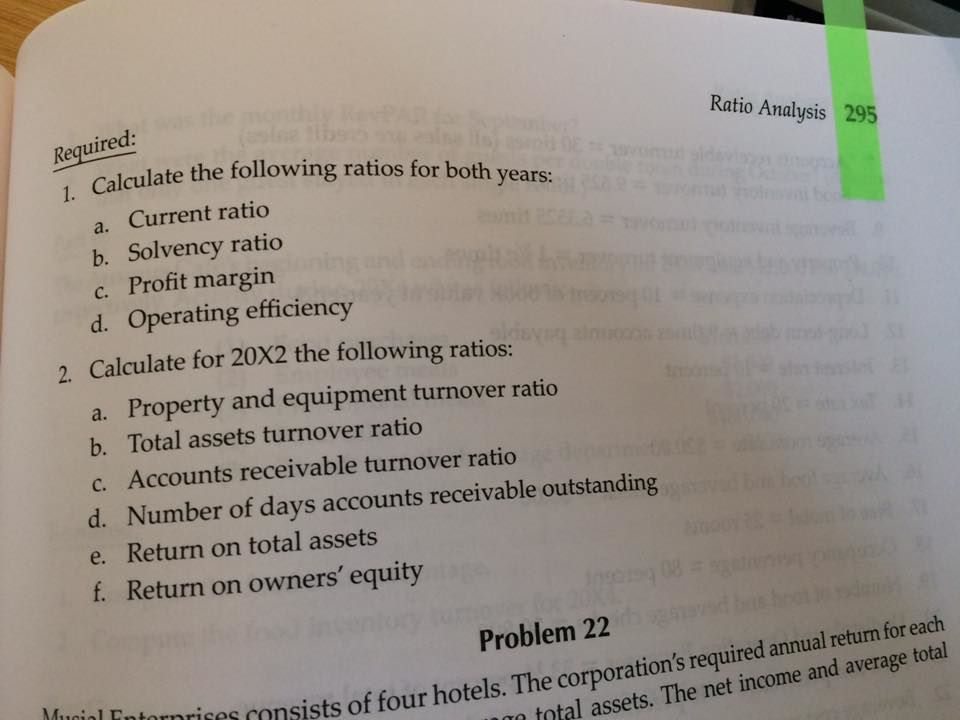 Please Can I Get The Answer To Problem 21 P 294 Of Chegg Com