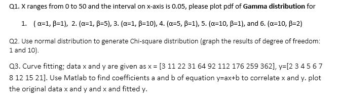 Solved: Q1  X Ranges From 0 To 50 And The Interval On X-ax