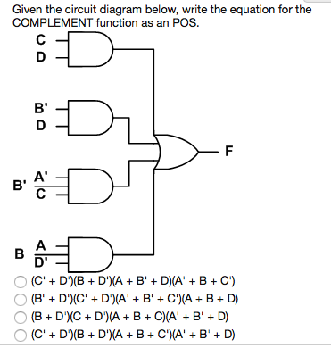 Solved: Given The Circuit Diagram Below, Write The Equatio ... on