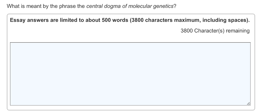 what is meant by the phrase the central dogma of m com question what is meant by the phrase the central dogma of molecular genetics essay answers are limited to