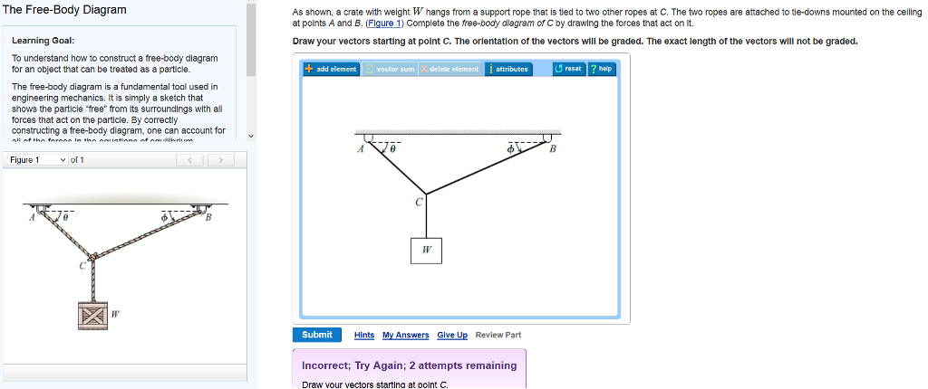 solved to understand how to construct a free body diagram rh chegg com engineering mechanics free body diagram pdf engineering mechanics free body diagram pdf