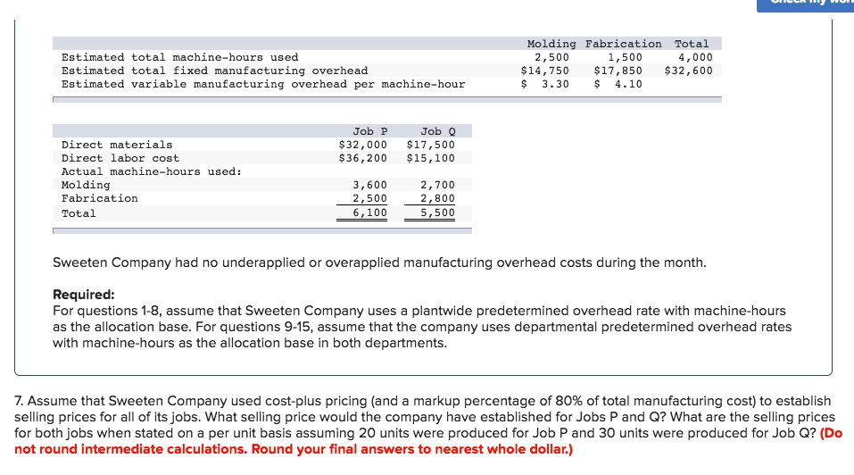 sandler corporation bases its predetermined overhead rate on the estimated machine hours for the upc Tco b) sandler corporation bases its predetermined overhead rate on the estimated machine hours for the upcoming year data for the upcoming year appear below data for the upcoming year appear below.