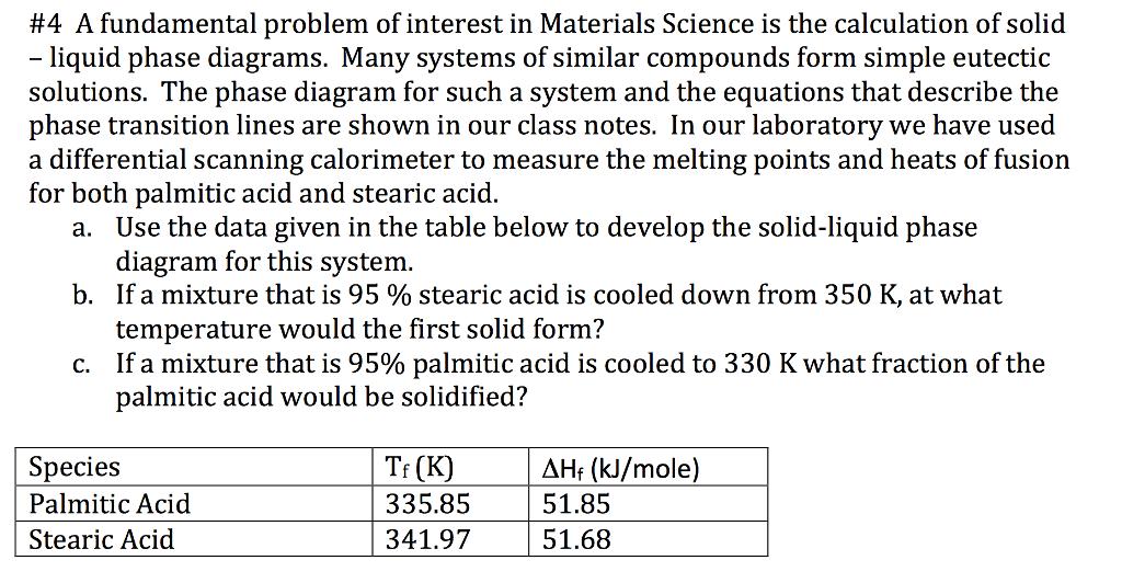 4 A Fundamental Problem Of Interest In Materials Chegg