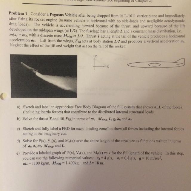 ing on hapter 4) problem 1 consider a pegasus vehi