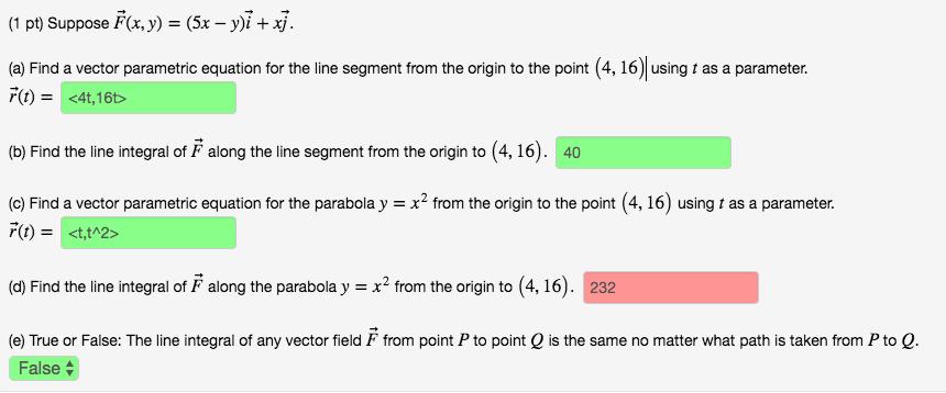 (1 Pt) Suppose F(x,y) U003d (5x Y