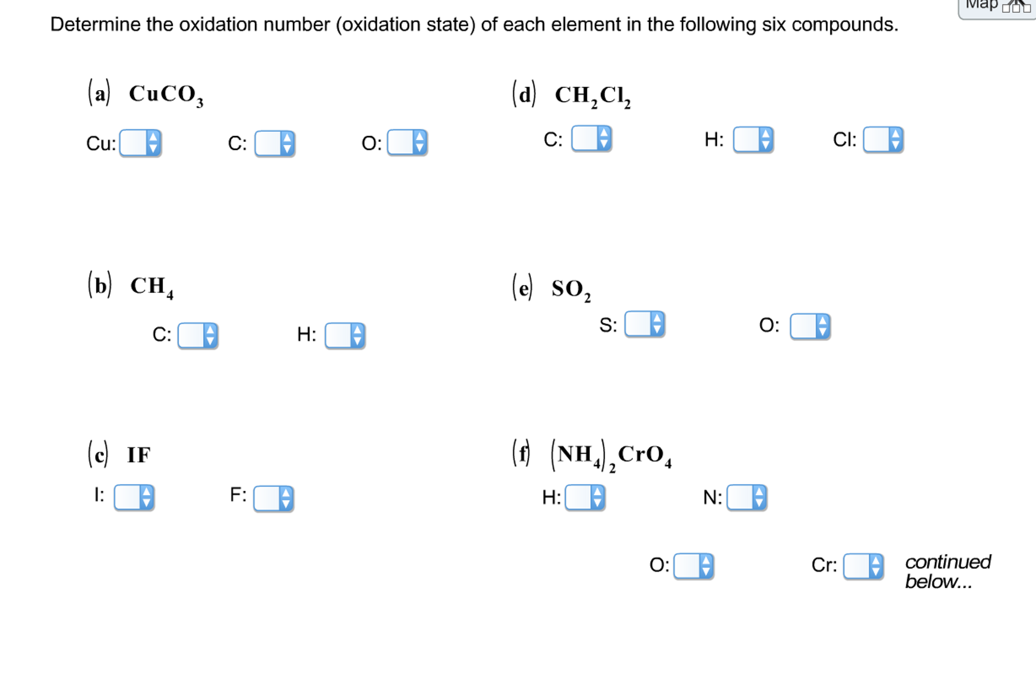 How to find oxidation number