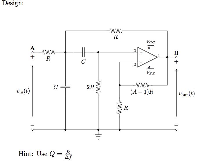 Solved: 5 The Sallen-Key Bandp Filter A Schematic Of Th ... on filter capacitor, filter data, filter information, filter assembly, filter symbol, filter diagram, filter scheme, filter drawing, filter results, filter parts, filter box, filter electrical,