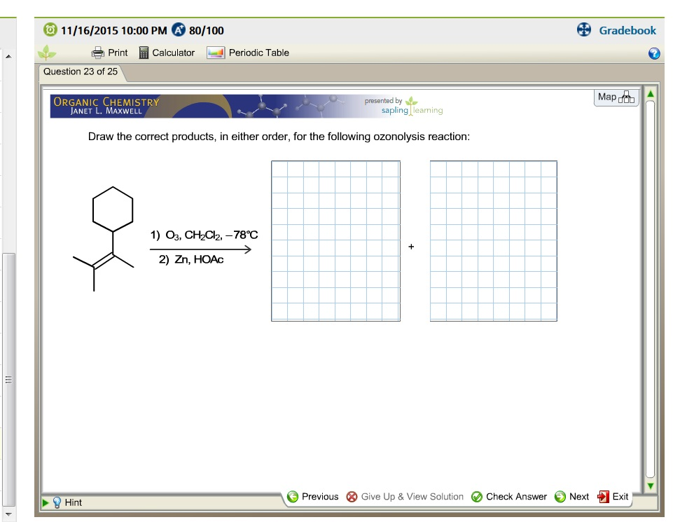 Chemistry archive november 15 2015 chegg 11162015 1000 pm a 80100 gradebook t print fandeluxe Images