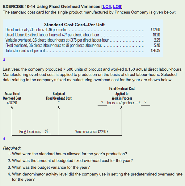standard model and overhead costs Standard cost: setting overhead cost comments off on standard cost: setting overhead cost use the information from your abc model to set your overhead cost.