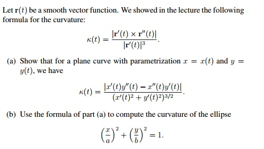 Solved: Let R(t) Be A Smooth Vector Function  We Showed In