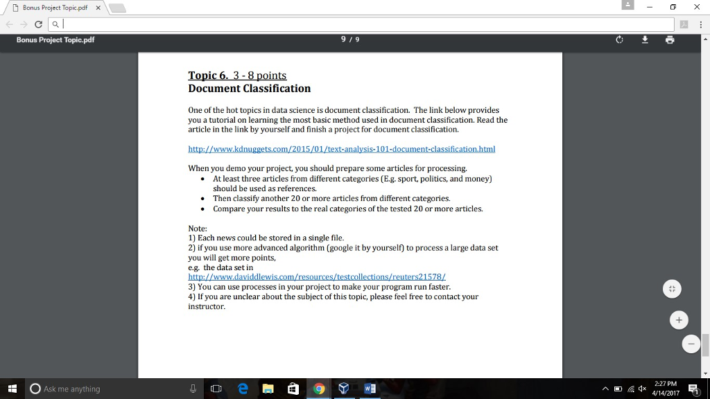 Solved please help i am trying to figure out what kind of d bonus project topic pdf x c al bonus project topicpdf ask me anything solutioingenieria Gallery