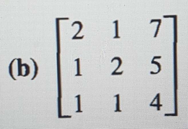 Solved: 30. (a) Find The LU Decomposition Of Matrix In Exe ...
