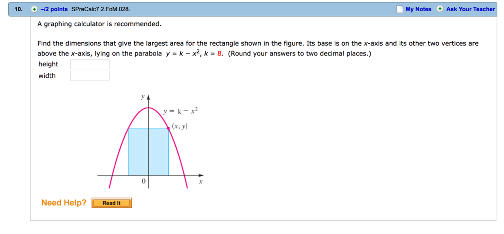 Solved: A Graphing Calculator Is Recommended  Find The Dim