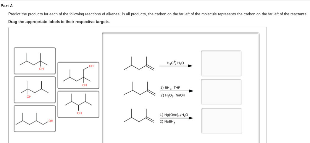 What Kind Of Molecule Is Represented In The Diagram   Solved Predict The Products For Each Of The Following Rea