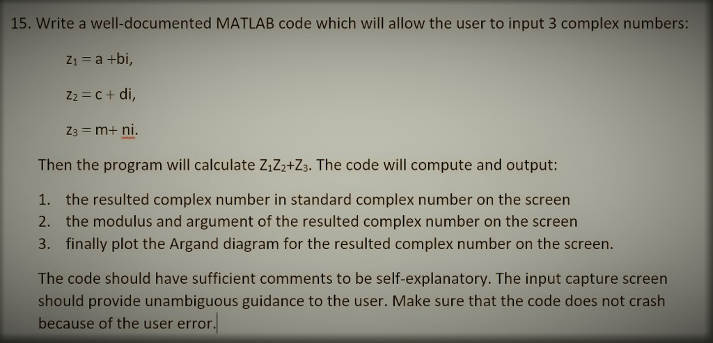 modulus of a complex number matlab
