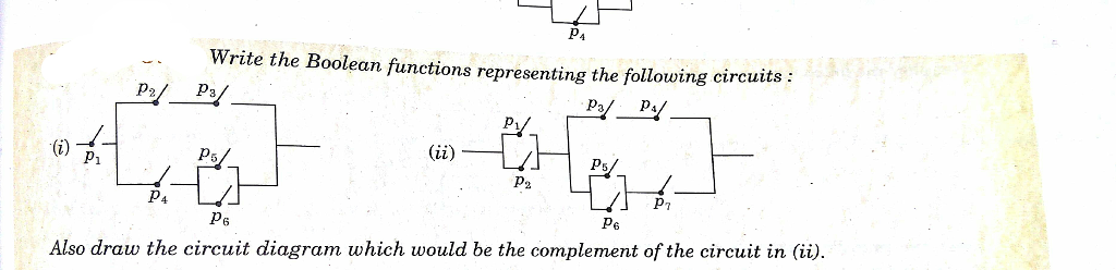 Civil engineering archive december 13 2017 chegg write the boolean functions representing the following circuits p2 p3 ps p2 pt p6 ccuart Image collections