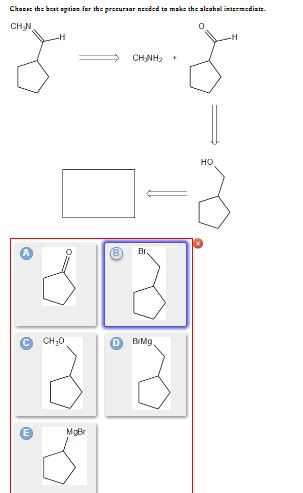 Choose the best option for the precursor to 1-phenylethyl bromide
