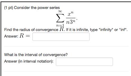 Solved: (1 Pt) Consider The Po...