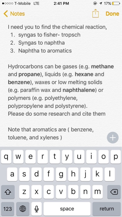 Solved: I Need You To Find The Chemical Reaction, 1  Synga