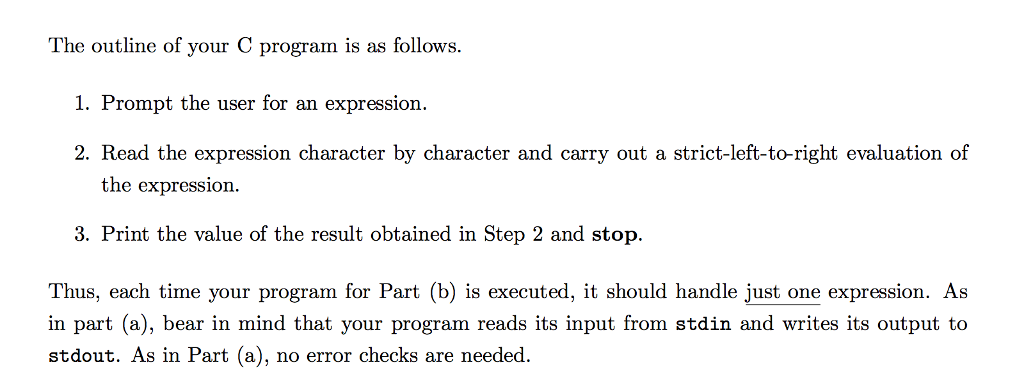 Solved: You Are Required To Write A C Program To Carry Out