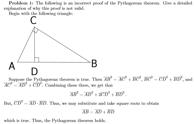 understanding the concept and proof of the pythagorean theorem Reasoning and proof to explore the pythagorean theorem how participating in this activity had allowed a deeper understanding of both a geometric concept.