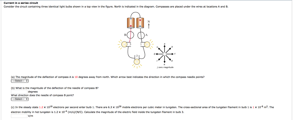 Solved: Current In A Series Circuit Consider The Circuit C ...