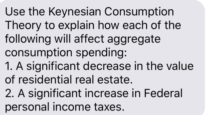 the keynesian theory of consumption