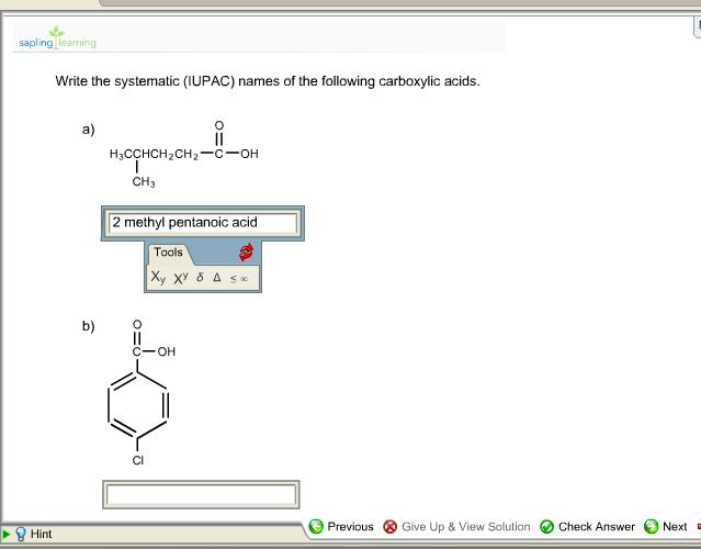 College chemistry study tools