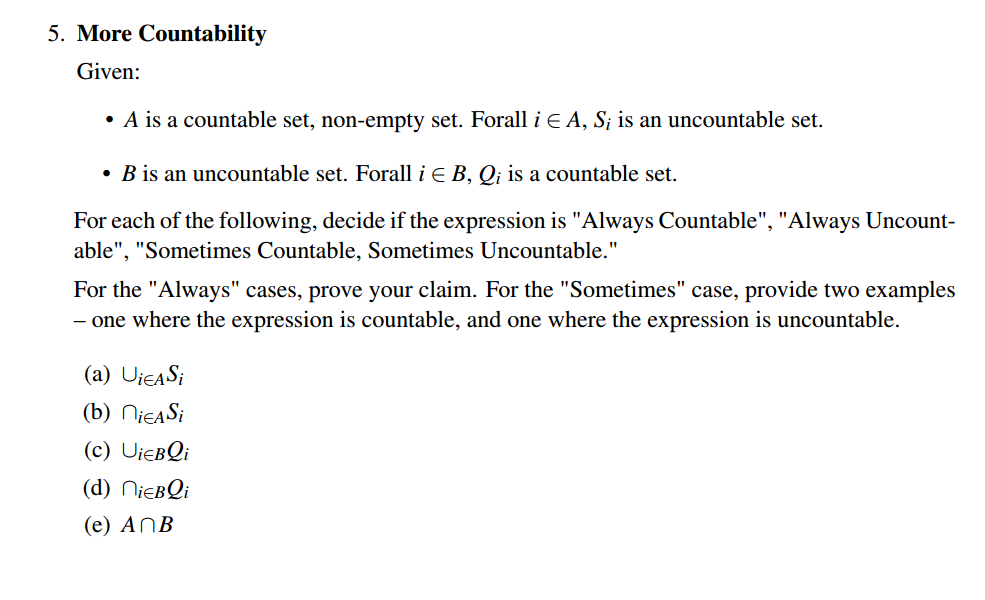 Cantor and countability: a look at measuring infinities how big is.