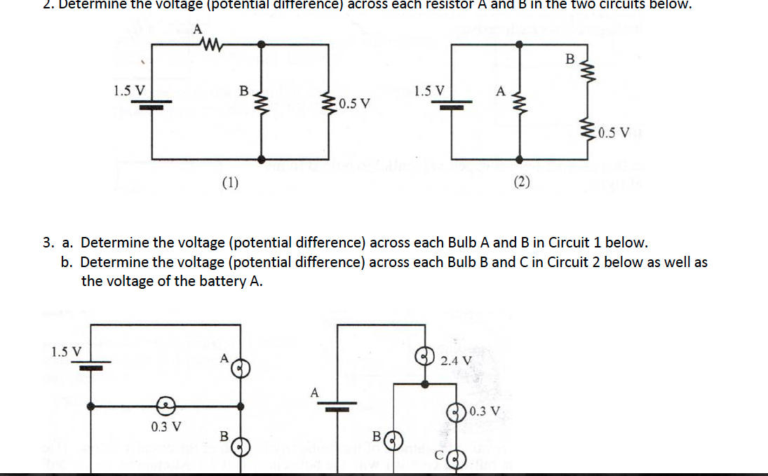 solved consider the following circuits of identical bulbs rh chegg com