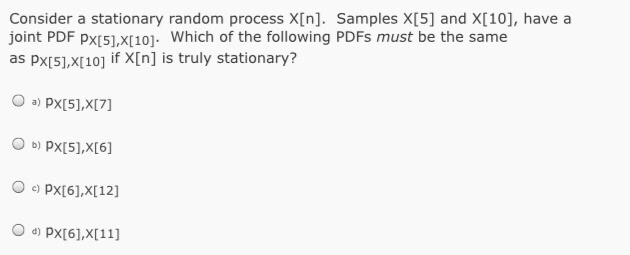Electrical engineering archive october 25 2016 chegg consider a stationary random process xn samples fandeluxe Image collections