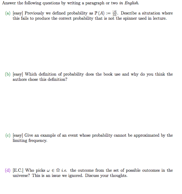 Solved Answer The Following Questions By Writing A Paragr