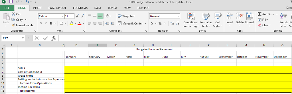 Can Someone Help Me Complete The Top Excel Spreads Chegg Com