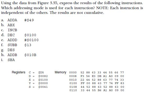 Using The Data From Figure 335 Express The Resul Chegg