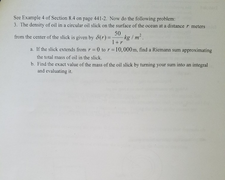 Solved: See Example 4 Of Section 8 4 On Page 441-2  Now Do