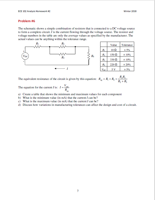 Electrical engineering archive february 24 2018 chegg ece 102 analysis homework 2 winter 2018 problem 6 the schematic shows a simple fandeluxe Image collections