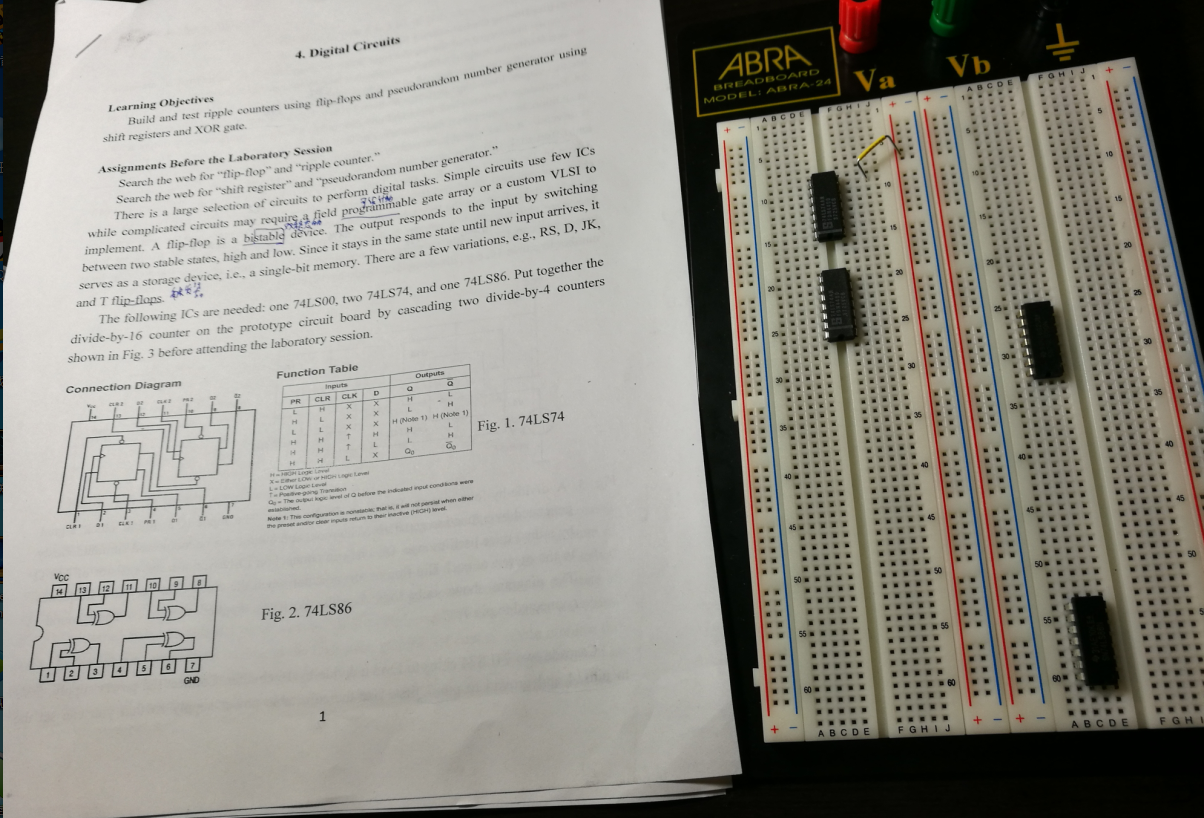 Can Anyone Do A Divide By 16 Counter On The Prot Testing Of Vlsi Circuit Learning Objectives Build And Test Ripple