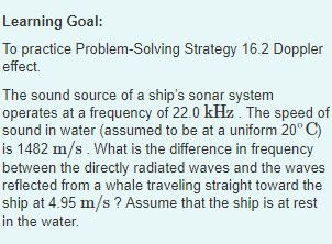 Solved: Learning Goal: To Practice Problem-Solving Strateg
