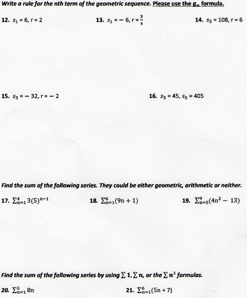 Solved Part 1 Write An Explicit And Recursive Rule For T