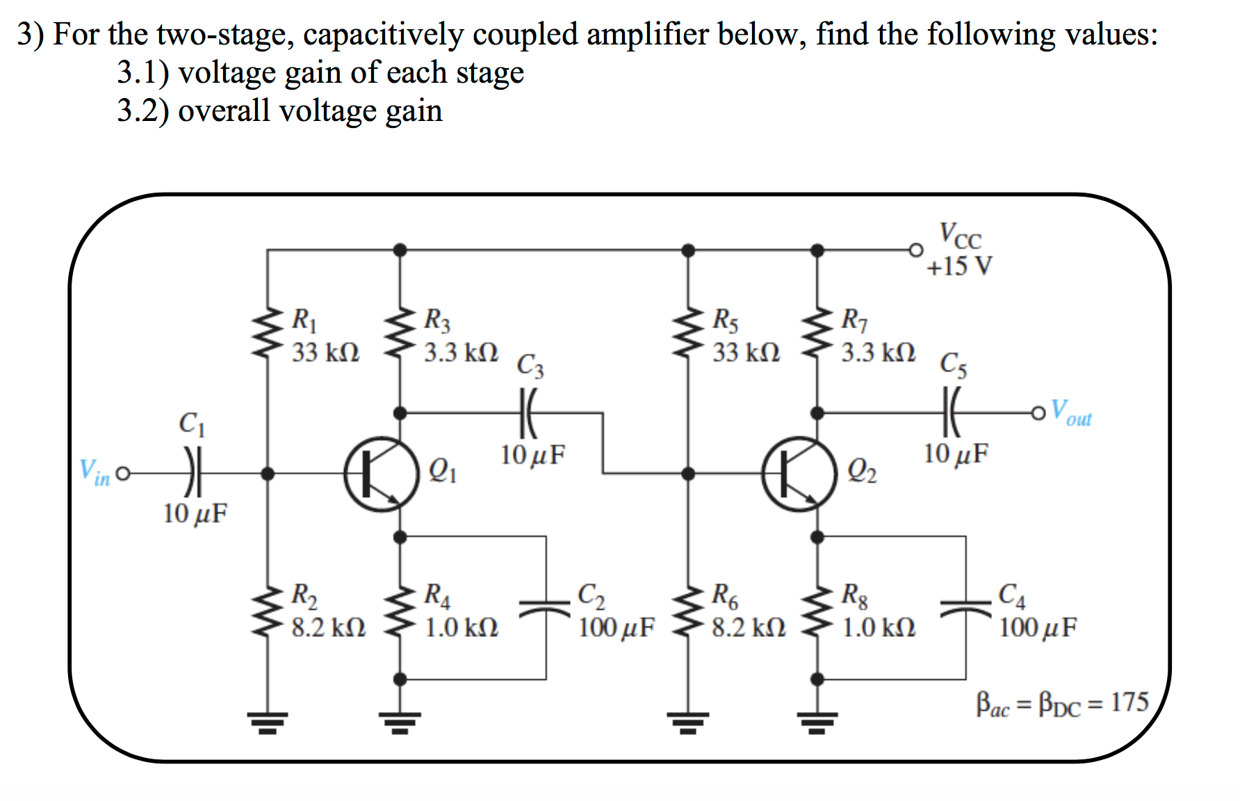 Two Stage Rc Coupled Amplifier Circuit Diagram Wiring And Jfet With Ac Coupling Tradeoficcom For The Capacitively