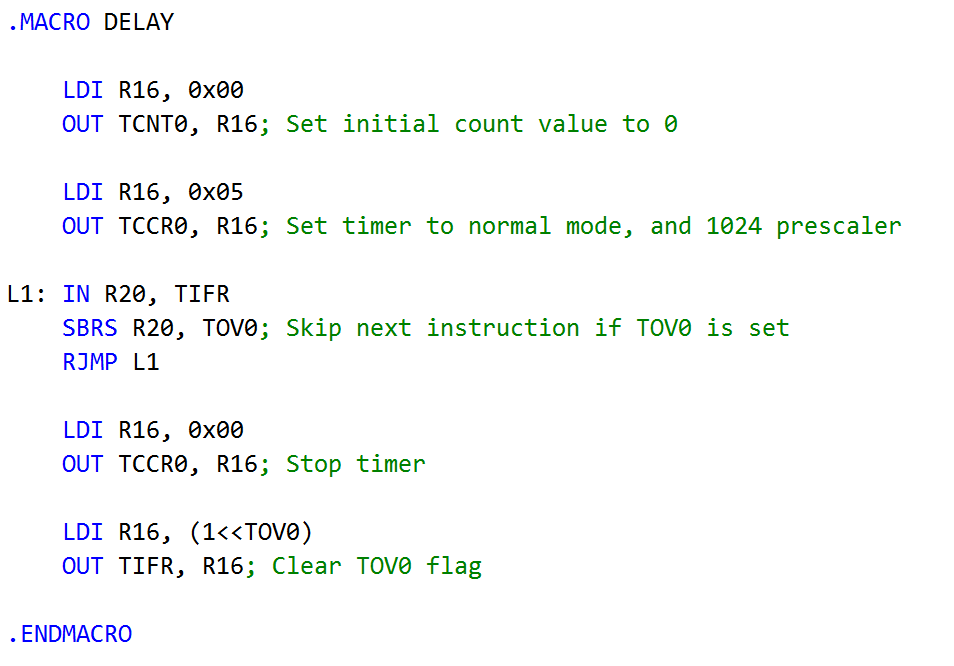 Solved: I'm Writing An Assembly Code To Blink The LED On A