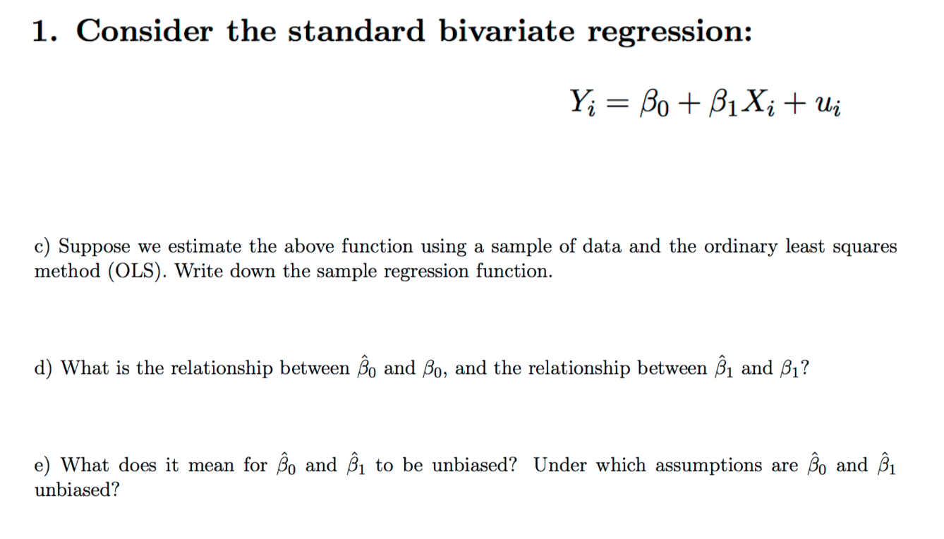 bivariate regression What is bivariate analysis types of bivariate analysis and what to do with the results statistics explained simply with step by step articles and videos.