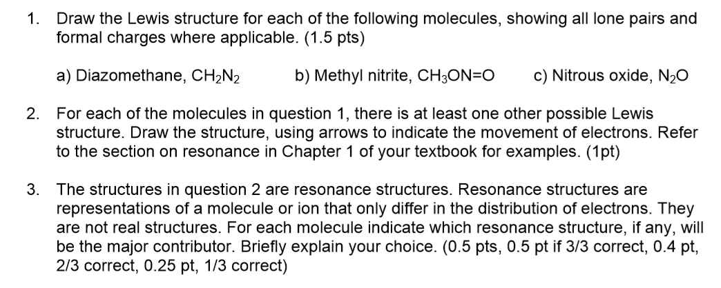 1 build or draw the lewis structure for each of the molecules listed below 1)draw a lewis structure for each of the following molecules and polyatomic ions and then use the vsepr theory to predict the molecular geometry.